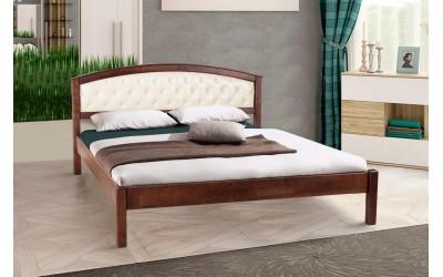 Кровать Микс Мебель Джульета мягкое изголовье (ольха)