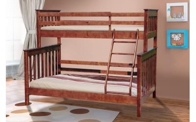 Кровать Микс Мебель Скандинавия (двухъярусная, трехместная)