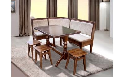 Комплект кухонный Семейный (стол и 3 табуретки)
