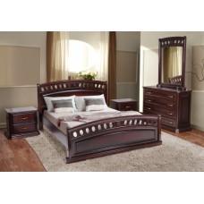 Кровать Микс Мебель Флоренция (массив дуба)