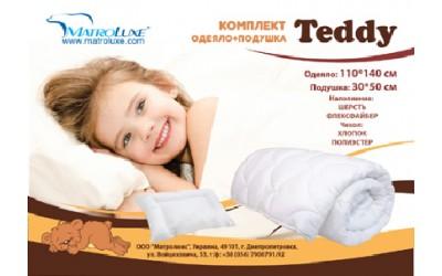 КОМПЛЕКТ ДЕТСКИЙ TEDDY / ТЕДДИ (ОДЕЯЛО + ПОДУШКА)