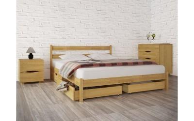 Кровать Олимп (ТМ Аурель) Лика без изножья с ящиками