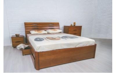 Кровать Олимп (ТМ Аурель) Марита Люкс с ящиками