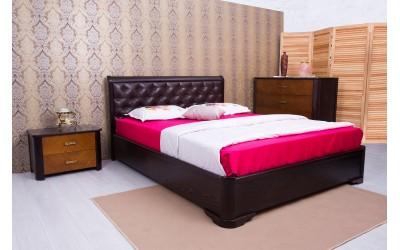 Кровать Олимп (ТМ Аурель) Милена с мягкой спинкой
