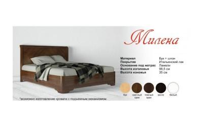 Кровать Олимп (ТМ Аурель) Милена
