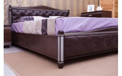 Кровать Олимп (ТМ Аурель) Прованс с мягкой спинкой и механизмом
