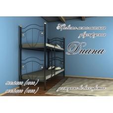 Двухъярусная кровать Метал-Дизайн Диана