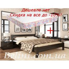 Кровать Рената с двусторонним матрасом Matroluxe Пион