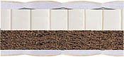 наполнение матраса банни латекс кокос 2 в 1